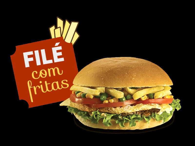 Filé com Fritas